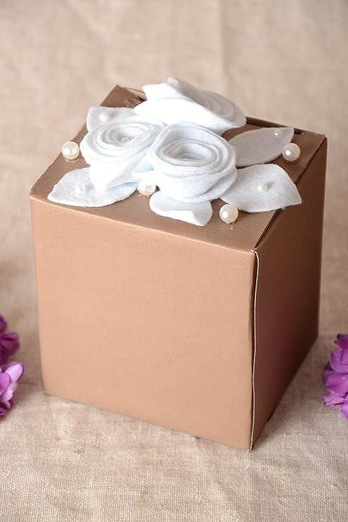 Caja de carton hecha a mano embalaje para regalo envoltorio original: Amazon.es: Hogar
