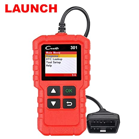 Amazon com: LAUNCH Creader 301 OBD2 Scanner Diagnostic Scan Tool Car