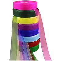 HEALLILY cinta de organza decoración de fiesta festiva