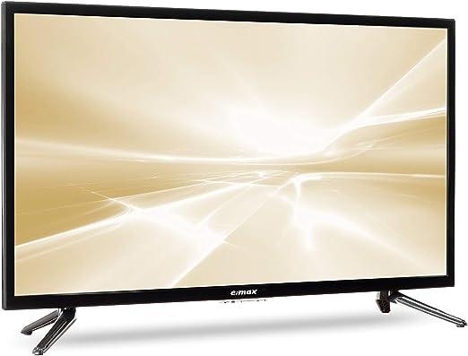 max - Televisor de 32 pulgadas (80 cm, E320HX, Full Matrix LED Light, HD, sintonizador triple, CI+, HDMI, USB, Q.Box Sound System): Amazon.es: Electrónica