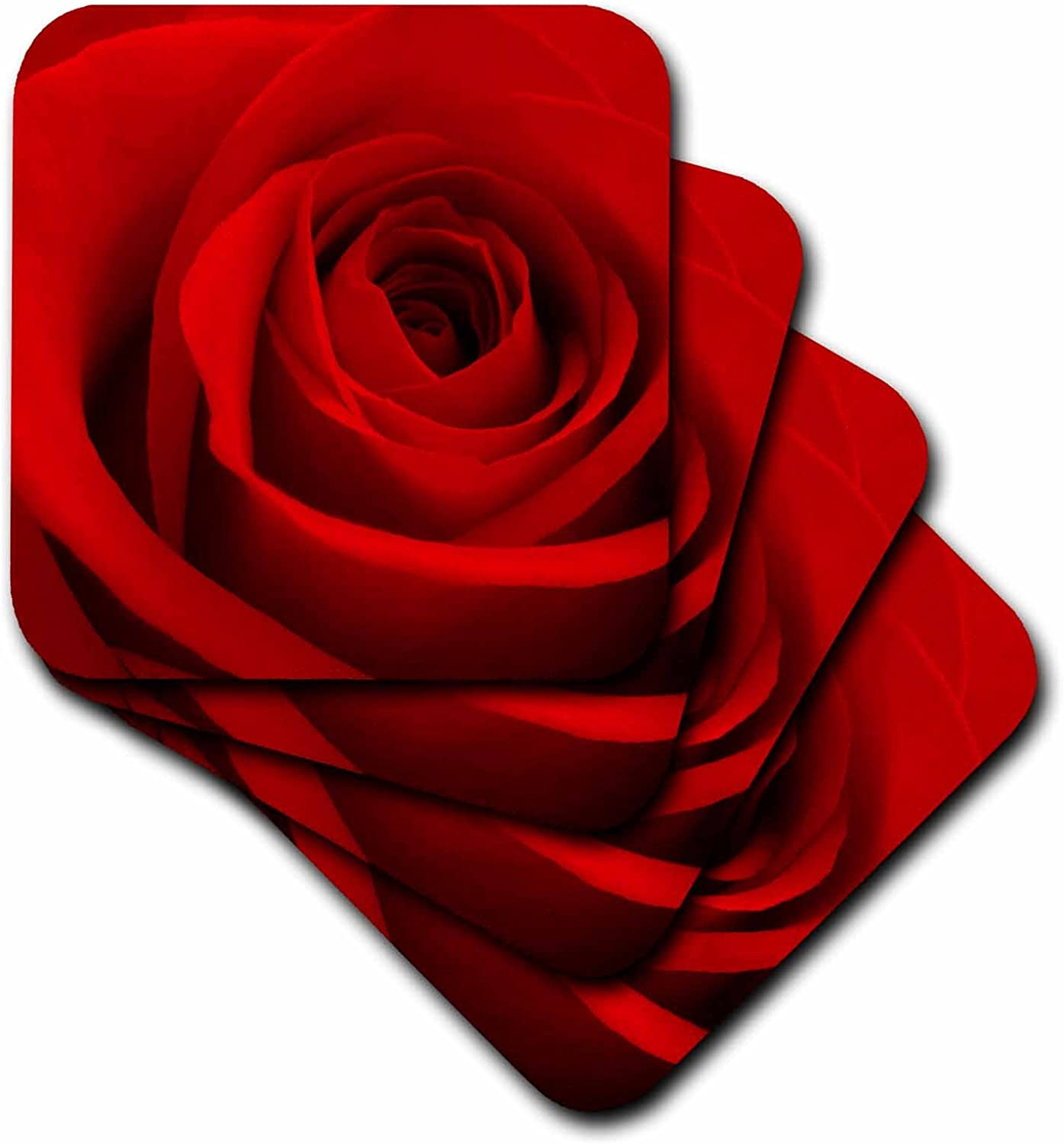 Amazon.com: 3dRose cst_155091_1 Red Rose Flower Love Relationship ...