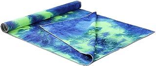 Tie Unique Die Impression Rectangle Tapis De Yoga Non Slip Sports Fitness Serviette Couverture avec Net Sac élargi Pad De Danse Drapé 183x63cm - Pin Et Bambou Couleur
