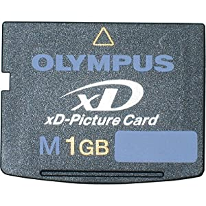 Olympus 1 GB Type M xD-Picture Card ( 200495 ) 3 1GB Olympus xD-Picture Card Small--about the size of a postage stamp Advanced storage technology