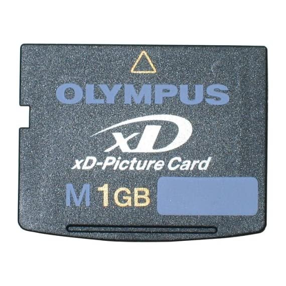 Olympus 1 GB Type M xD-Picture Card ( 200495 ) 1 1GB Olympus xD-Picture Card Small--about the size of a postage stamp Advanced storage technology