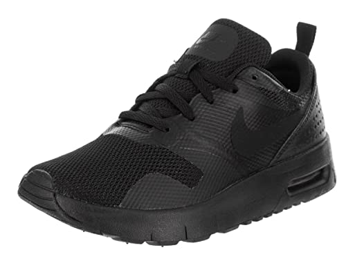 size 40 99189 e8d62 Amazon.com   NIKE Kids Air Max Tavas (PS) Black Black Running Shoe 3 Kids  US   Running