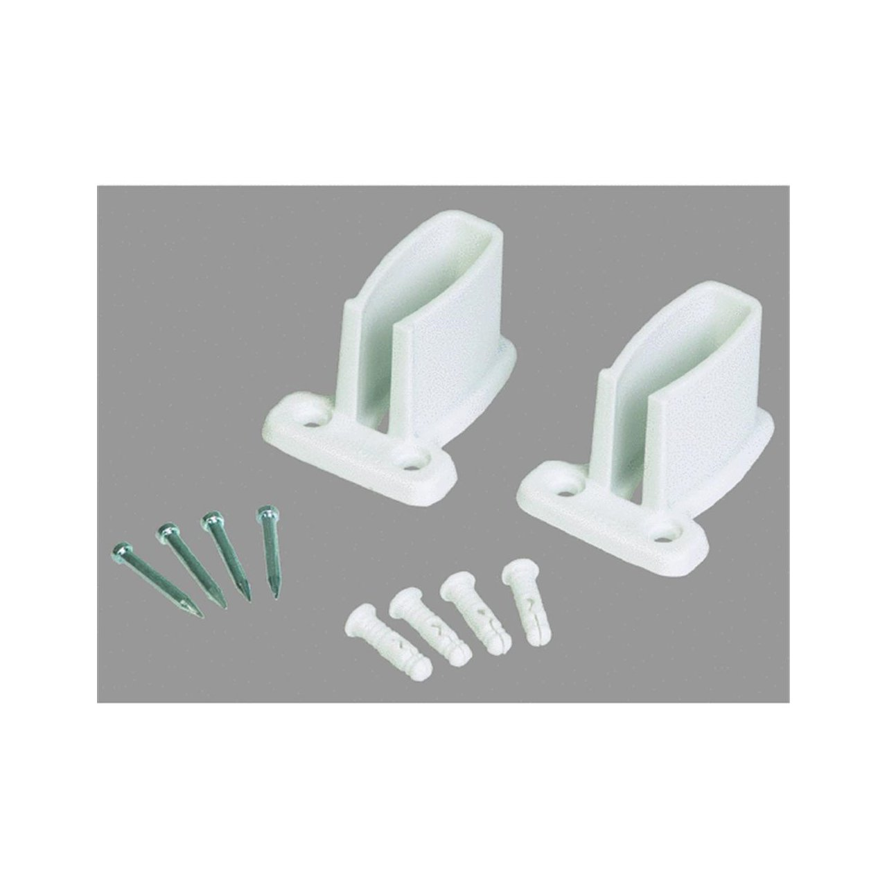 Amazon.com: Organized Living 1464 6621 11 Sidewall Brackets With Trilock  Anchors 2 Count: Home Improvement