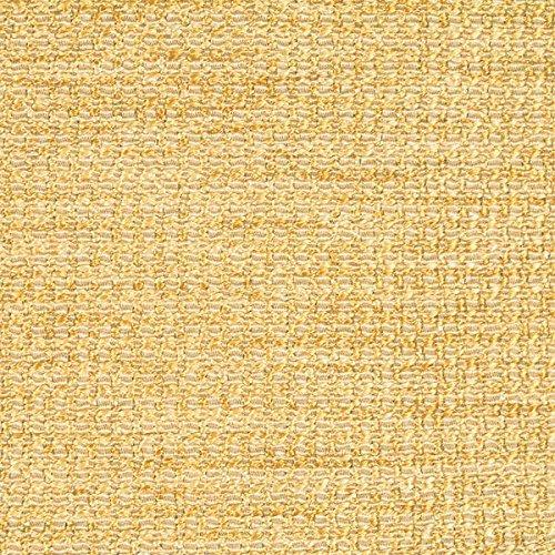 Silver Diamond Basketweave - Crypton Waterproof Textured Basketweave Upholstery Fabric by The Yard Fortune Yellow Diamond