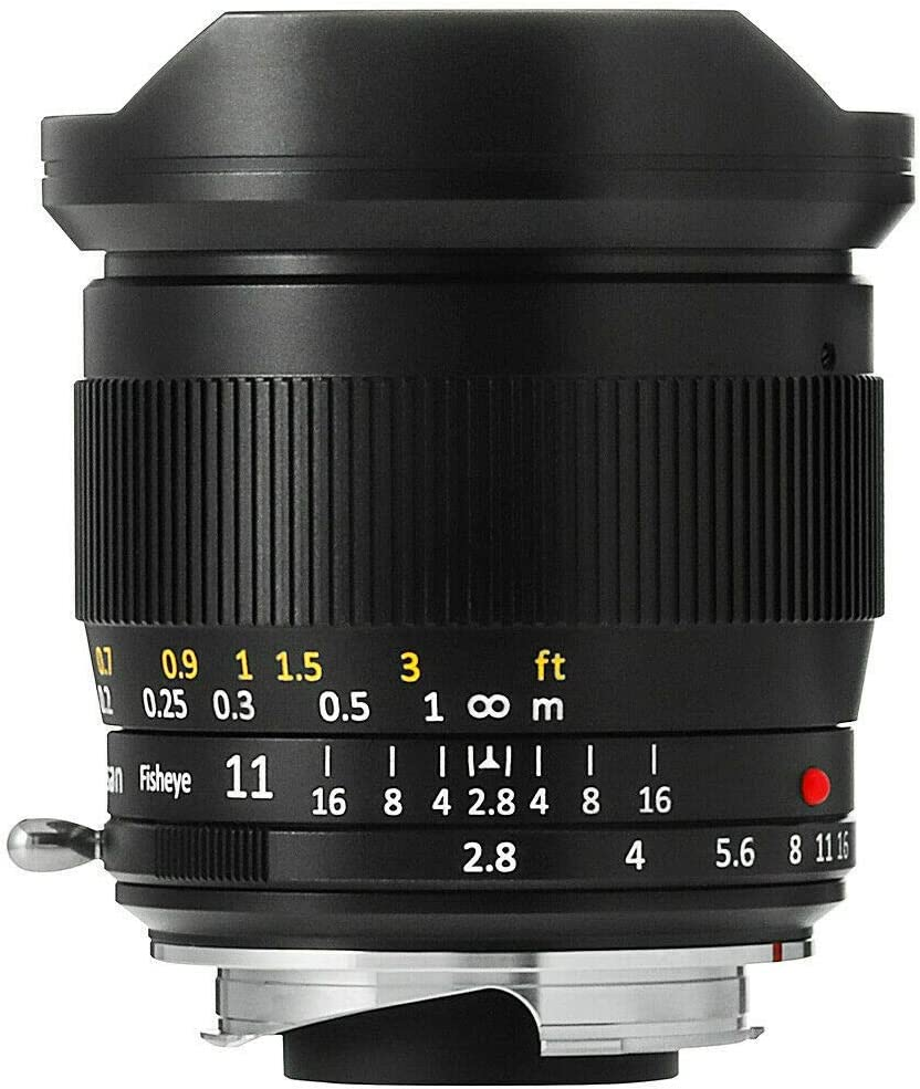 EOS R5,EOS R6 TTArtisan 11mm F2.8 Full Frame Ultra-Wide Fisheye Manual Lens for Canon EOS-R Mount EOS R,EOS RP