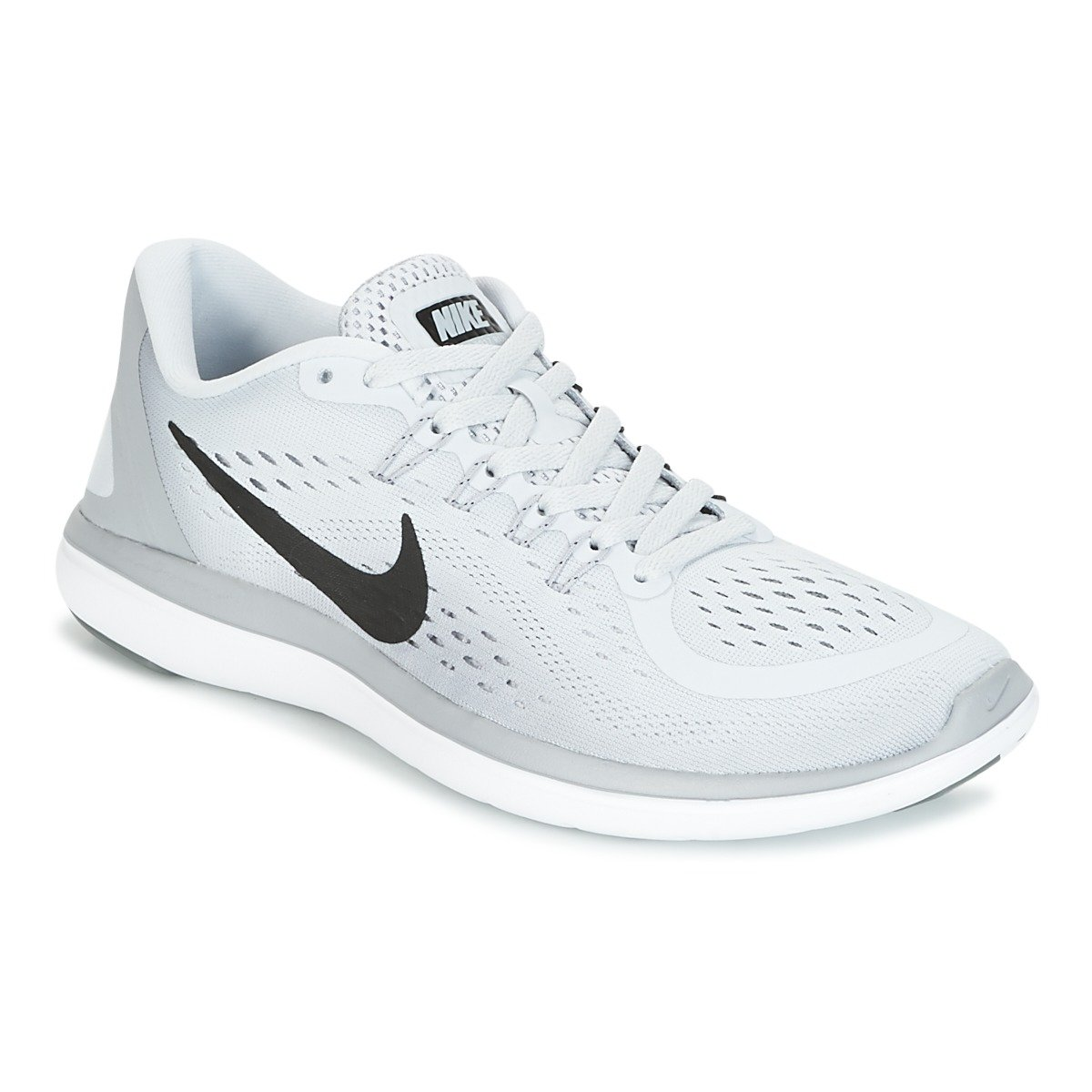 Nike Wmns Flex 2017 RN, Zapatillas de Trail Running para Mujer 44.5 EU|Gris (Pure Platinum / Black / Wolf Grey / Cool Grey 002)