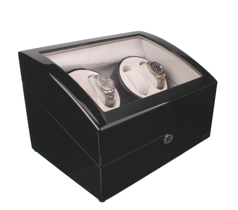 AXIS Luxus automatische 4 Uhrenbeweger NEU mit 5 Armbanduhr Speicher