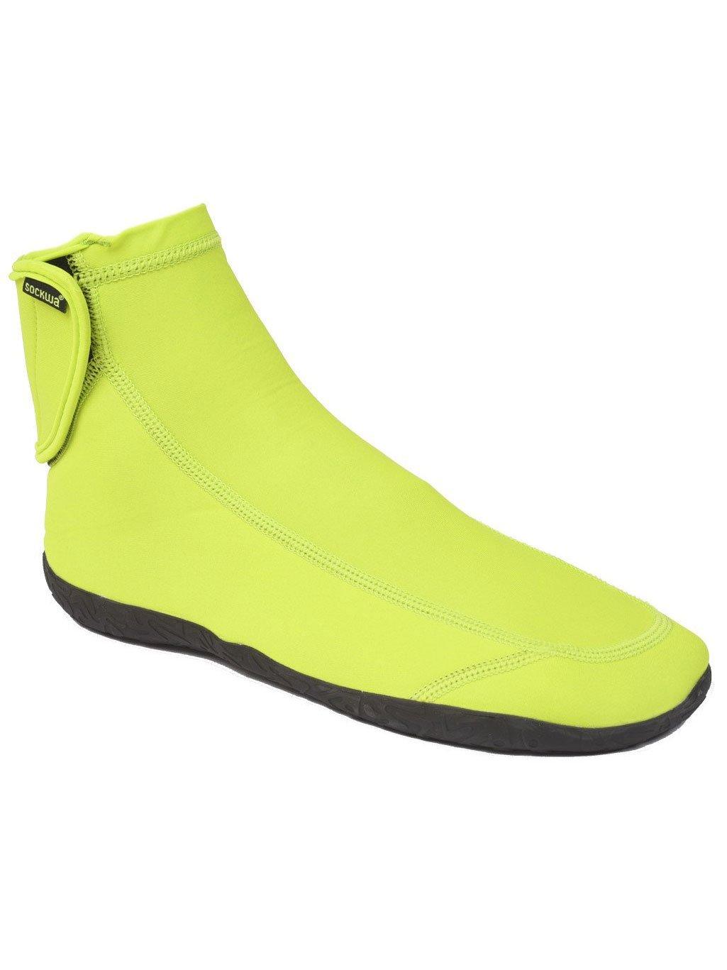 Sockwa G-HI Minimal Beach Sneaker B01MSCDOM7 Mens 11/Womens 12|Lime