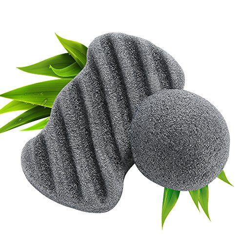 FRESHME Nature Cleanning Charcoal Konjac