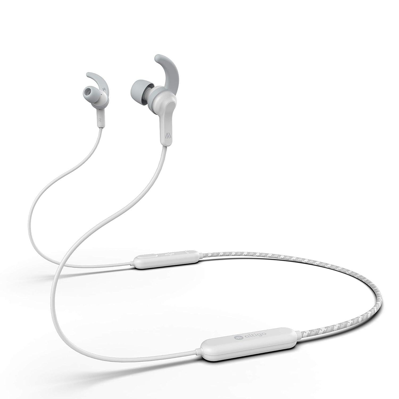 Bluetooth Headphones - Altigo in Ear Wireless Earbuds Earphones (White)
