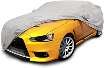 2014 2015 MITSUBISHI OUTLANDER SPORT Waterproof Car Cover w//Mirror Pocket Gray