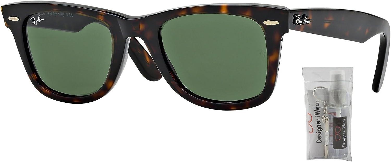 Ray Ban RB2140 WAYFARER Gafas de sol para hombres y mujeres: Amazon.es: Ropa y accesorios