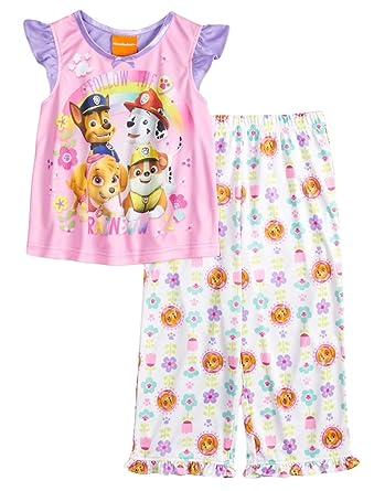 3T Paw Patrol Follow The Rainbow Top /& Bottoms Pajama Set