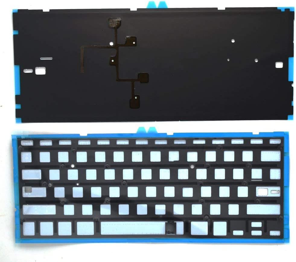 Replacement Backlight Backlit Keyboard with Compatible for MacBook Air 13-Inch A1369 A1466 MC965LL MC966LL EMC 2559 MD231LLA MD760LLA Series 2011 2012 2013 2014 2015