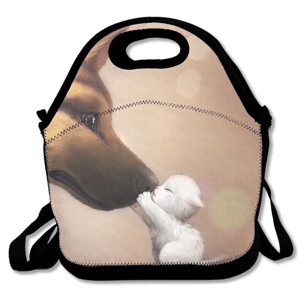 Sunmoonet Lunch Bag, Large Lunch Bag, Adult Fresh Lunch Bag For Kids Teens, Anime Cute Dog Cat Baby Animals