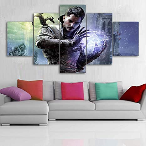 HD Print Oil Painting Home Decor on Canvas Hulk and Lex Multiple Size Options