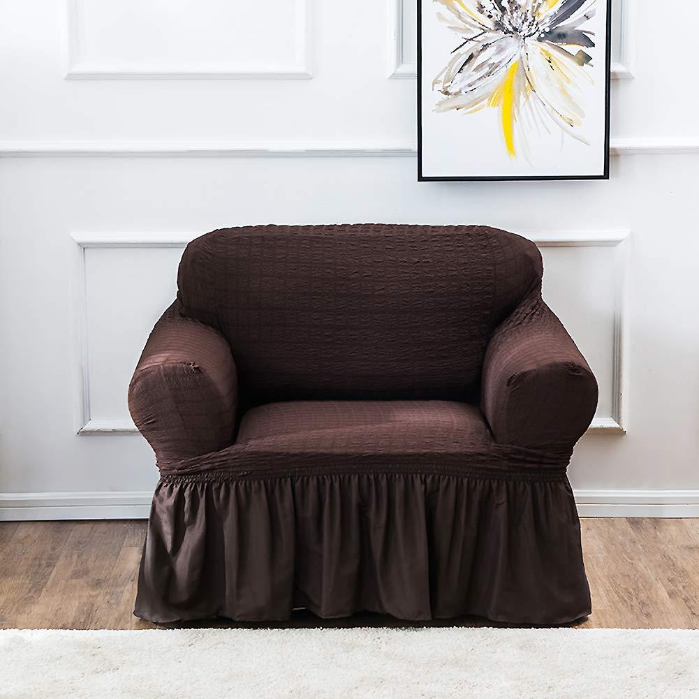 Amazon.com: Jacquard Funda de sofá elástica, antideslizante ...