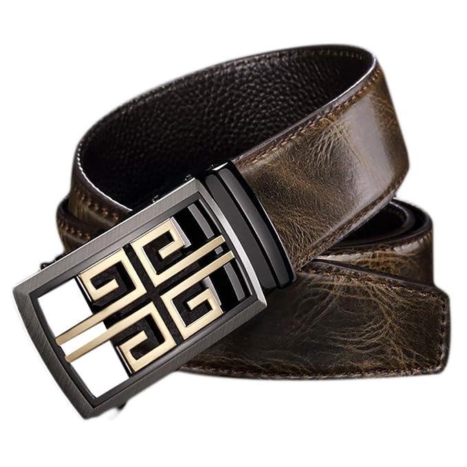 ES-AP Cinturón De Cambio De Color Para Hombres Hebilla De Oro Plata ... dd4a9f4cc6b5