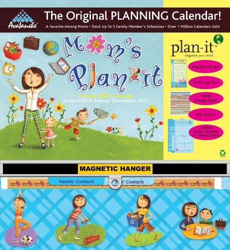 Calendar 2010 Large Wall - 2011 Mom's Plan-It Plan-It Plus Calendar