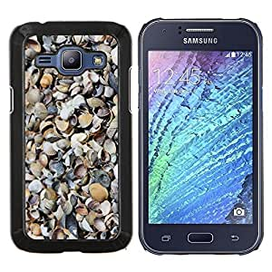 Stuss Case / Funda Carcasa protectora - Patrón Shore Sand Beach Naturaleza - Samsung Galaxy J1 J100