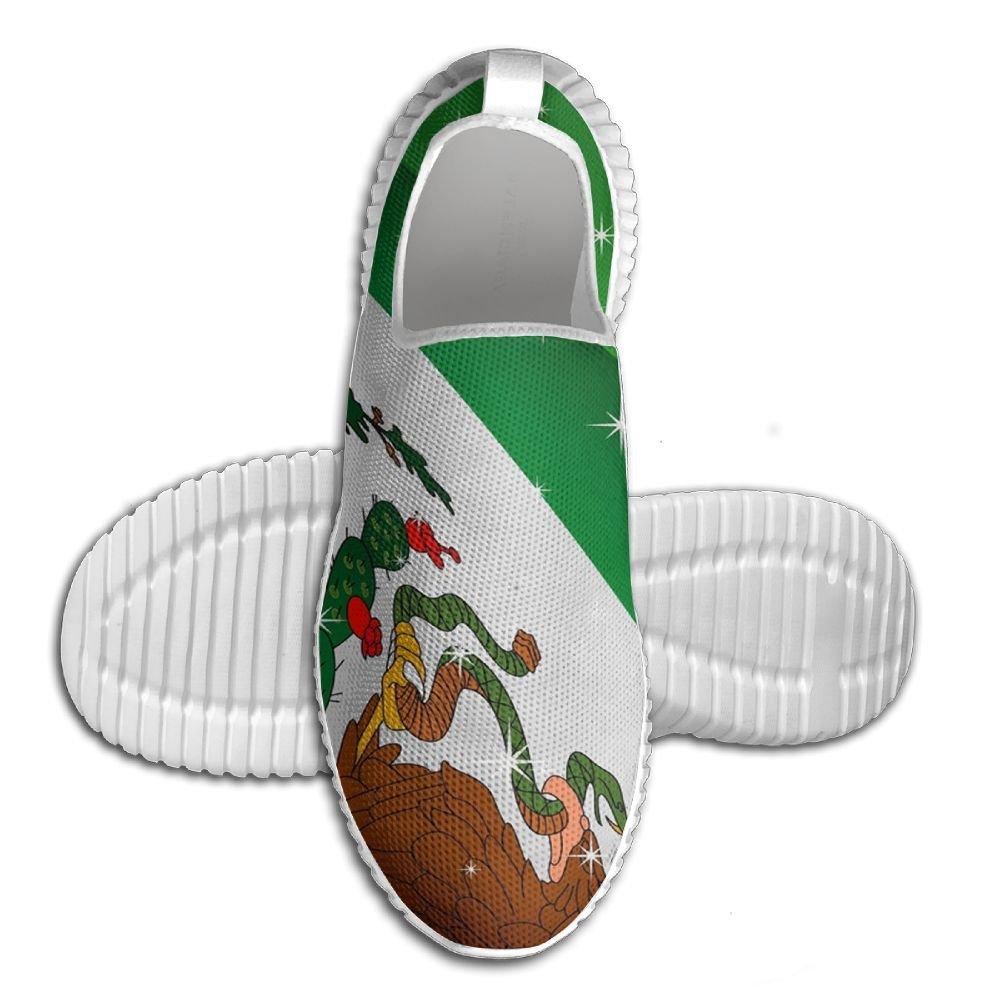 メンズ軽量Road Running Shoes Mexico No Tieエアメッシュ通気性アウトドアスポーツソフトアスレチックスニーカー 46 ブラック eroegrh781-21225970 B078BTL4BL
