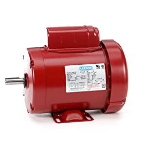Leeson Farm Duty Electric Motor - 3/4 HP, 1,725 RPM, 115/208-230 Volts, Single Phase, Model Number M6C17FB9
