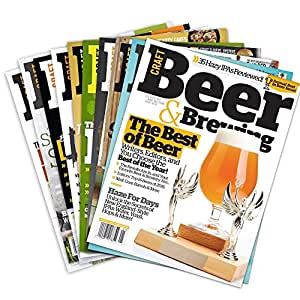 Print Subscription to Craft Beer & Brewing Magazine