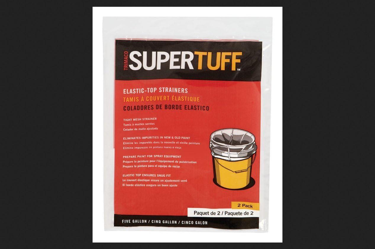 Amazon Com Trimaco 11523 5 Gallon Supertuff Elastic Top Paint Strainer Home Improvement