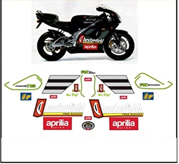 Kit Adesivi Decal Stickers Aprilia Rs 125 Replica Chesterfield Biaggi 1996 Ability To Customize The Colors