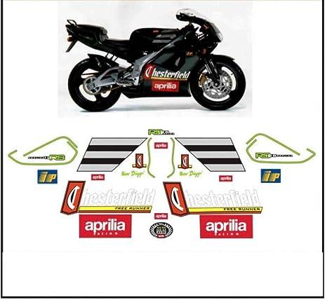 Kit Adesivi Decal Stickers Aprilia Rs 125 Replica