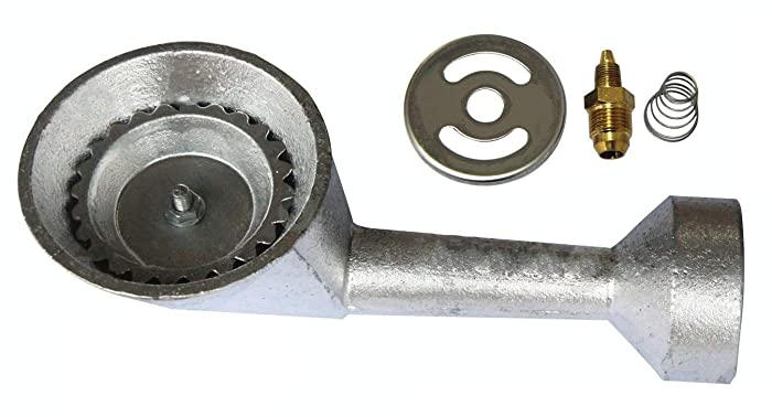 Hongso High Pressure Cast Iron Burner Replacement for Round Bayou Classic Cooker Frames (CBBG10N)