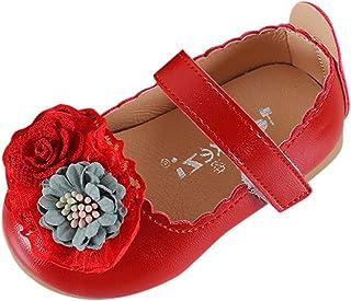 Moonuy Toddler Filles Chaussures Nouveau-Né Infant Flower Flats Enfants Bébé Filles Élégant Princesse Unique Chaussures Sandales Été