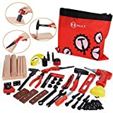 NextX 69 Pieces Kids Toy Tool Kit Set Children Pretend Play Game Construction Toys Role Play Set For Boy Girl