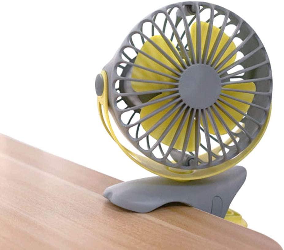 ornerx Variable Speed USB Desk Fan with Clip