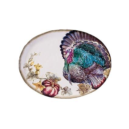 amazon com one hundred 80 degrees colorful turkey ceramic 17