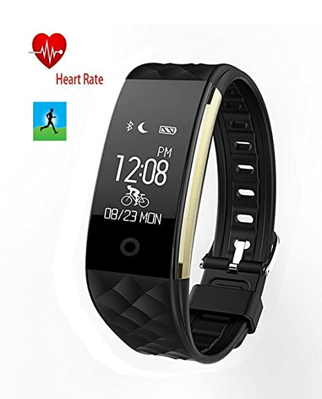 Amazon Com Smart Heart Rate Sports Bracelet Heart Rate Monitor