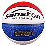 Senston 27.5' Junior Basketball for Kids Size 5 Indoor Outdoor Baskestball Toy - Perfect Gift For Kids - Blue
