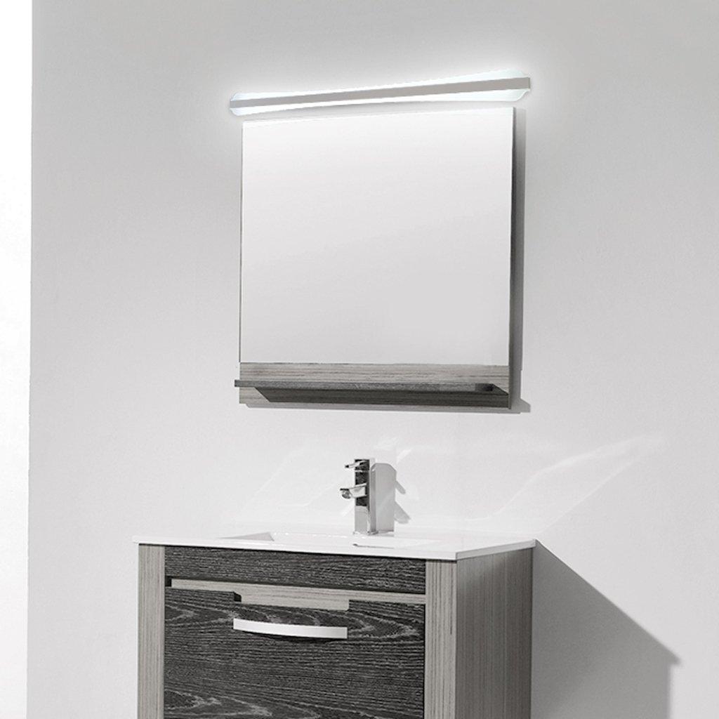 ミラーLEDライト、高輝度、浴室トイレシンク、鉄ランプボディペイント、防水、屋内照明、壁、ホワイト23W60cm ( Color : 60cm-white light ) B07B9R64LB 15099 60cm-white light 60cmwhite light