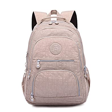 Amazon.com: Backpacks Women School Backpack for Teenage Girls Female Mochila Feminina Mujer Laptop Backpack Travel Bags,khaki,33CMX16CMX47CM 1377: Shoes
