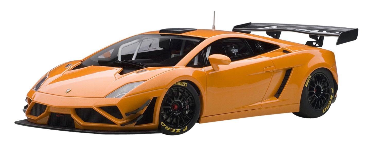 AUTOart – 81357 – Lamborghini Gallardo GT3 x FL2 – 2013 – Echelle 1 18 – Orange Metall