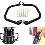 Alpha Rider Freeway Engine Guard Highway Matte Black Crash Bar Protection Footrest Bar For Harley Davidson Street 500 XG500 Street 750 XG750 2015 2016 2017