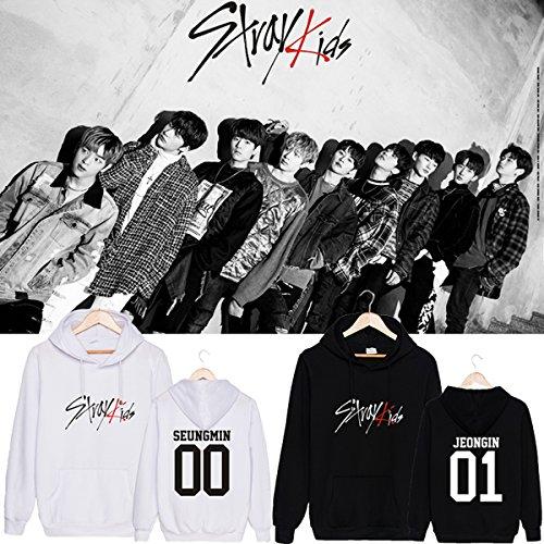CHAIRAY Kpop Stray Kids Hoodie Sweatshirt ChangBin HyunJin Woojin Sweater by CHAIRAY (Image #2)