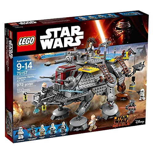 LEGO Star Wars Captain Rex's at-TE 75157 Star Wars Toy (Lego Star Wars Clone Turbo Tank Set 8098)