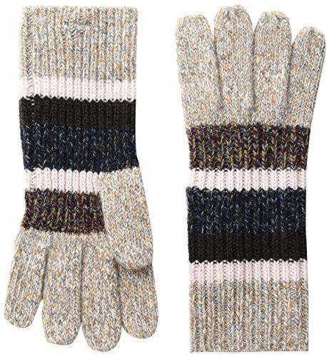 BCBGMAXAZRIA Women's Marled Glove, Crisp Linen, One Size