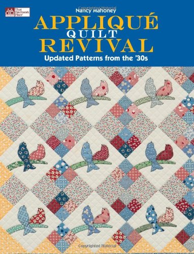 Horse Sewing Patterns - Appliqué Quilt Revival: Updated Patterns from the 30s