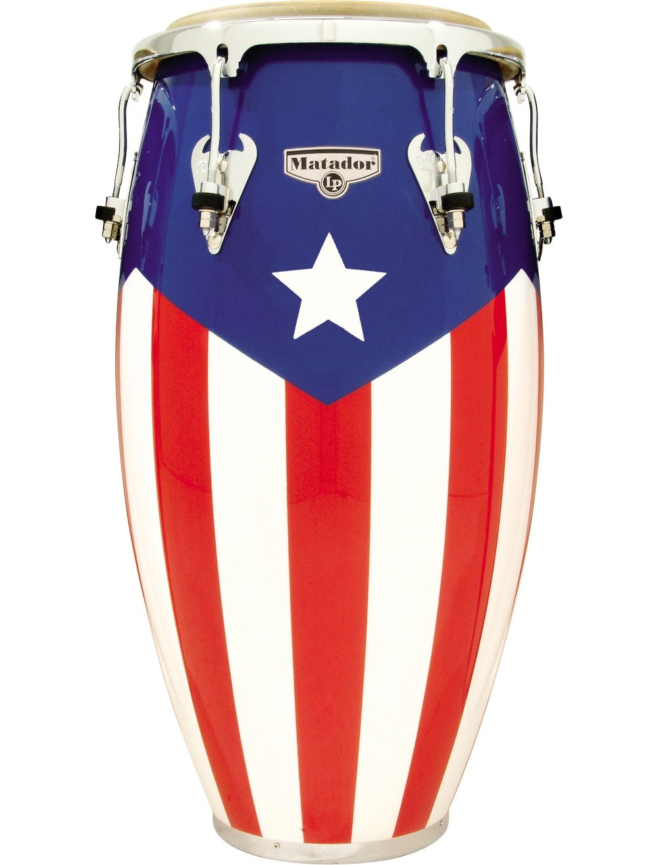 amazon com lp matador puerto rican flag conga 11 3 4 inch