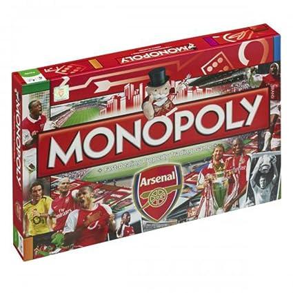 Arsenal Football Monopoly Board Game